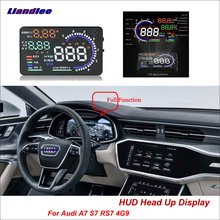 Liandlee Full Function HUD Car Head Up Display For Audi A7 S7 RS7 4G9 2017 2018 OBD Data Projector Windshield Safe Driving Scree цена и фото