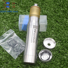 SXK Atto Mech Mod 316ss Styled 18350/18650 battery vape Patibulum Style 22mm RTA 3.5ML Capacity Atomizer 22mm vaporizer vape mod цены онлайн