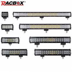 4 7 12 17 20 28 36 inch Offroad LED Bar Headlight Light Bar Foglight Combo Beam for 4x4 UAZ ATV Truck SUV 12V 24V LED Work Light