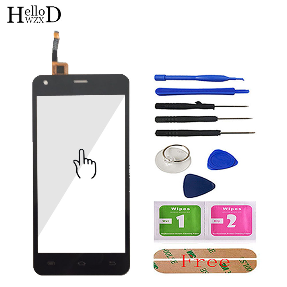 5.0'' Mobile Phone Touch Screen Glass For DEXP Ixion ES550 Soul 3 Pro Touch Screen Glass Digitizer Panel Sensor Tools Adhesive