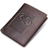 New Wallet brand Short men Wallets Cowhide Leather male Purse Card Holder Wallet Fashion man Zipper Wallet men Coin bag