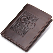 New Wallet brand Short men Wallets Cowhide Leather male Purse Card Holder Wallet Fashion man Zipper Wallet men Coin bag