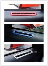 Двери автомобиля верх вентиляционное отверстие крышки отделкой для Ford Mustang 2015 2016 2017