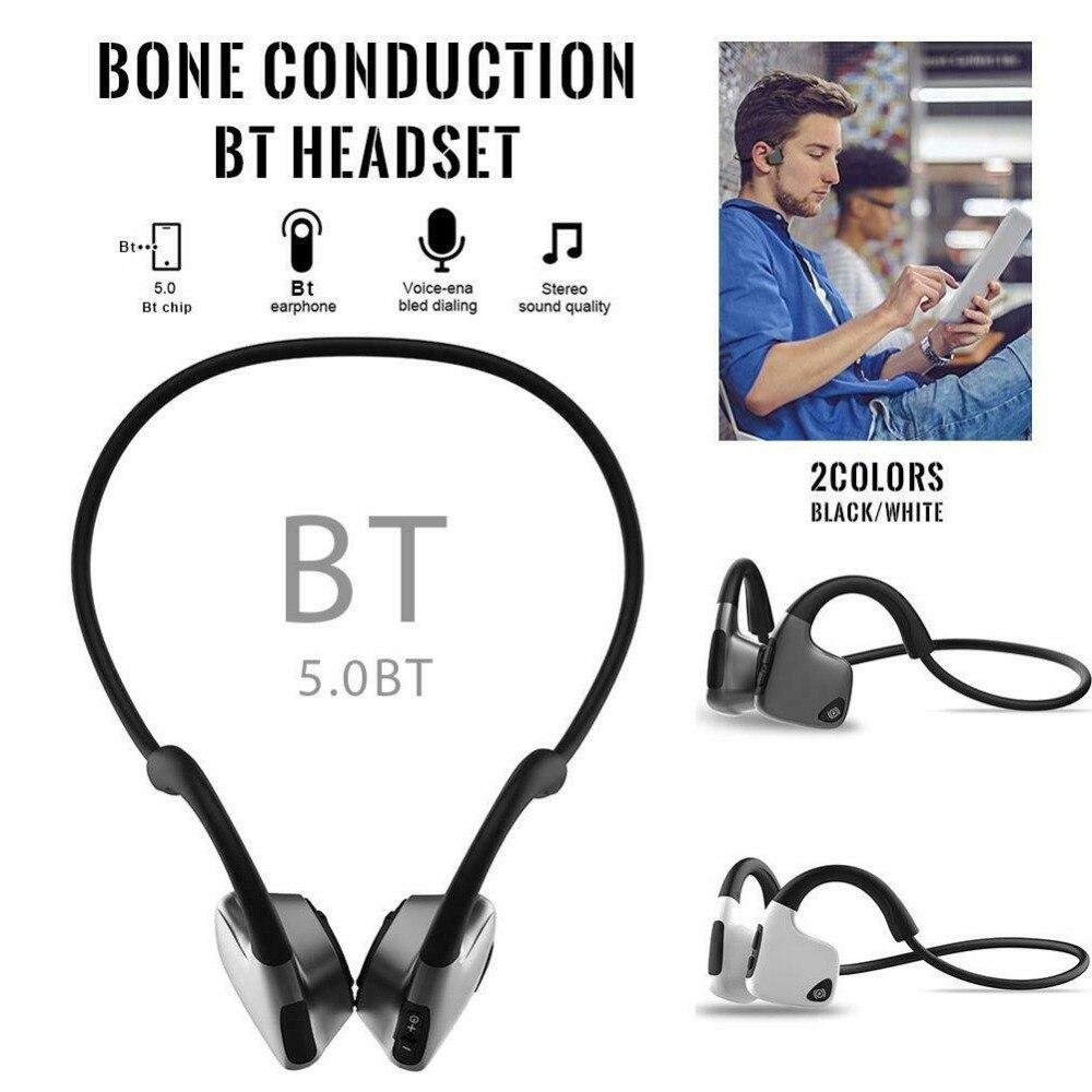 Nouveau casque Bluetooth anti-transpiration à Conduction osseuse intelligente 5.0 casque stéréo sans fil sport écouteurs pour iPhone Xiaomi