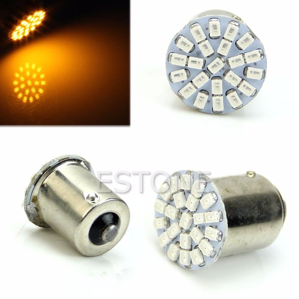 1PC 22-LED SMD Tail Sidelight Side Indicator Light Bulb BA15S P21W 1156 12V