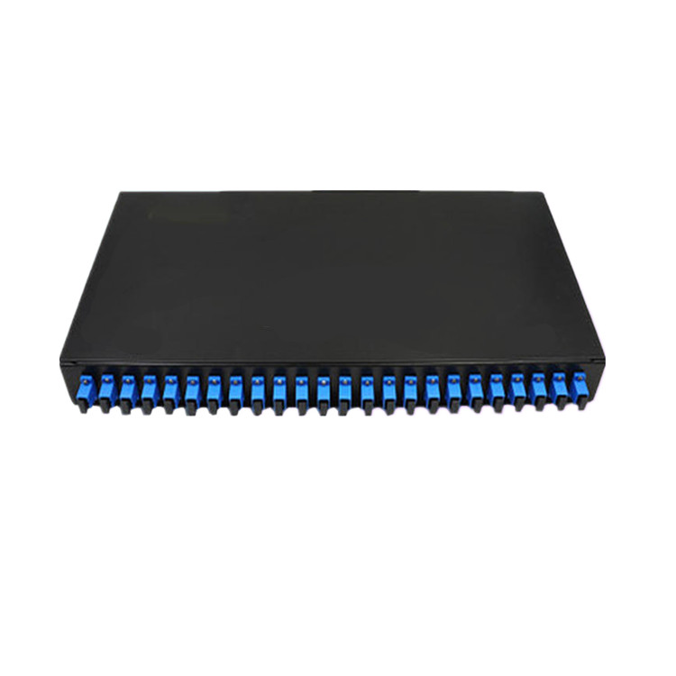 Fiber Optic Terminal Box 48 core LC with adapter pigtail 24 Ports Patch Panel