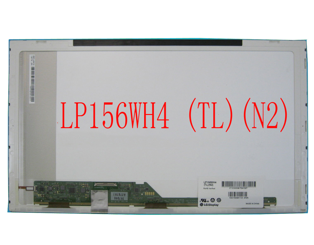 Matrix for Laptop 15.6 LP156WH4 TL N2 LCD Matrix 15.6  LP156WH4-TLN2 1366*768 HD LP156WH4 TLN2  High Quality lp156wh4 tl c1 tlc1 glossy lcd matrix lp156wh4 tl c1 glare 1366 768 15 6 hd 40pin