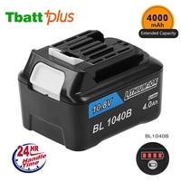 10.8V 4000mAh FOR Makita BL1040B BL1015 CXT Lion HP331D HP332D DF031D DF331