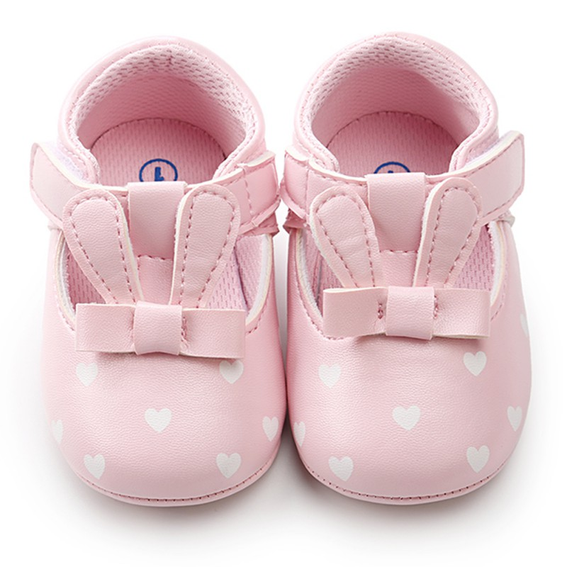 Baby Girl Shoes Cute Toddler hard sole first walkers Spring Autumn Infant PU Leather Shoes