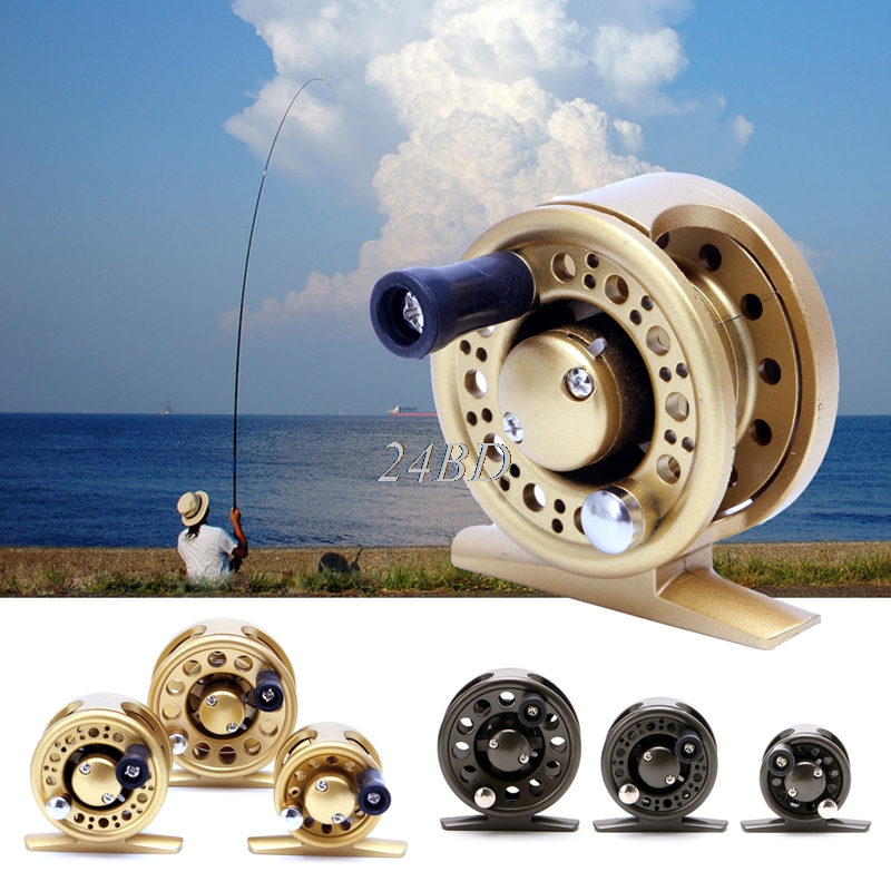 Fishing Reel Plastic Body Super Light Raft Fly Ice Sea Fish Wheel Reel M06