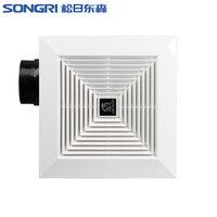 Потолочный вентиляционный вытяжной вентилятор для кухонной ванной комнаты