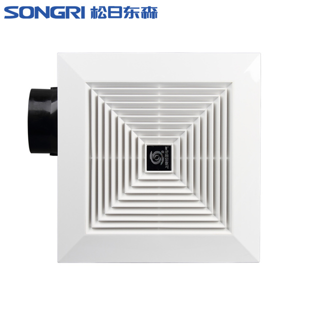 Ceiling Ventilation Exhaust Fan Kitchen Bathroom High Power Pipe Fan
