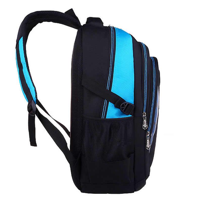 BAIJIAWEI 2018 New Children School Bags Boys Girls Large Capacity Backpack Teenagers Waterproof Satchel Kids Book Bag