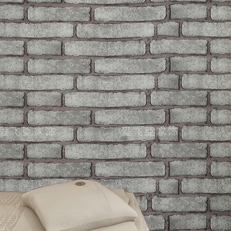 0.45x10 M Diri Perekat stiker dinding vinyl Batu Bata wallpaper Kamar - Dekorasi rumah - Foto 5