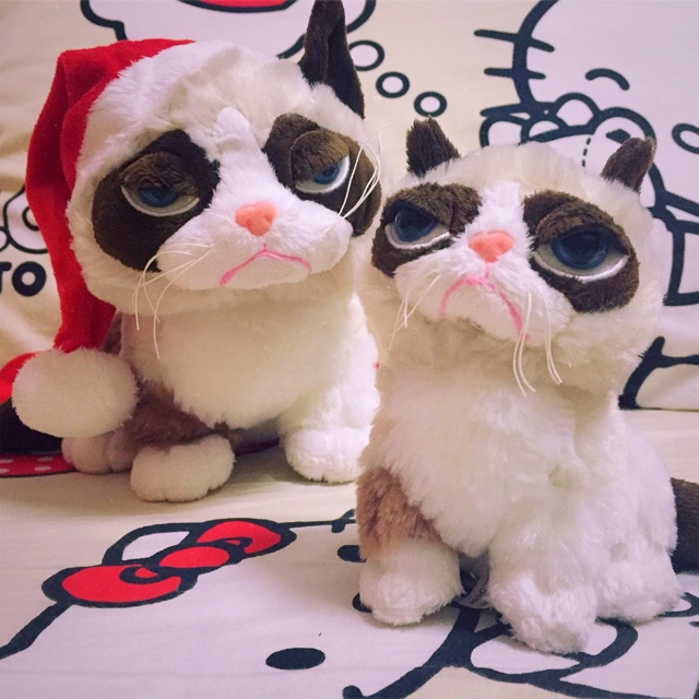 New Arrival Original Grumpy Cat Cute Soft Stuffed Animal Plush Toy Doll Birthday Children Gift Limited Collection 28cm new arrival tamino maita scratch cat plush toy stuffed cool unhappy kitty black white gray color 40cm 50cm freeshipping gift