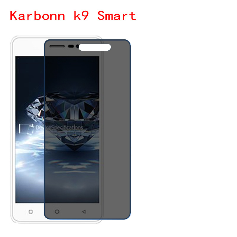 For Karbonn K9 Smart Screen Protector Privacy Anti-Blu-ray effective protection of vision