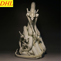Aliens vs Predator Requiem Aliens GK Bolaji Badejo Colophony Crafts Action Figure Collectible Model Toy L2313