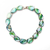 JOOLIM Green Statement Collar Necklace Choker Necklace Jewelry Wholesaler Nickel & Lead Free Design Jewelry