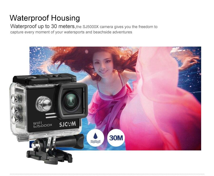 SJCAM SJ5000X 2.0 LCD caméra d'action étanche caméra d'origine 1080P HD 4K Sport DV caméra Sport Cam mini caméscope - 5