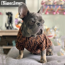 French Bulldog Fashion Dog Clothes Pet Puppy Hoodie Coat Schnauzer Chihuahua Sweater Jacket for Dogs Cats Pug Costume WHC01