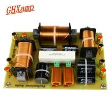 GHXAMP 2 yollu Crossover 1500W tiz + çift Woofer hoparlör Crossover 2500Hz yüksek güç 15 18 inç sahne profesyonel ses 1 adet