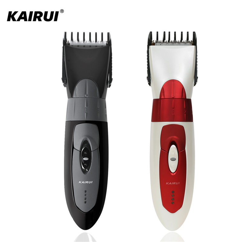 KAIRUI Waterproof Rechargeable Hair Clipper Electric Hair Trimmer Face Beard Razor Shaver for Men&Baby Haircut Machine electric waterproof adjustable shaving machine electric shaver hair clipper razor hair trimmers haircut for men baby child 30