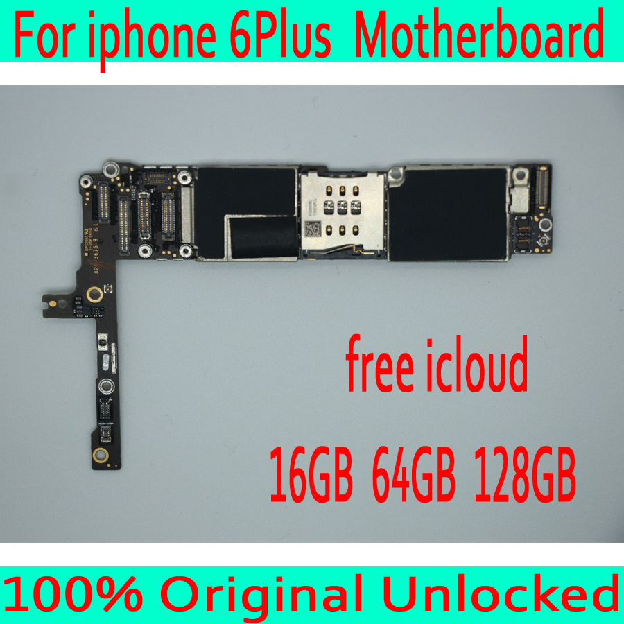 Free iCloud for iphone 6 Plus Motherboard without Touch ID,100% Original unlocked for iphone 6 Plus Mainboard,16GB / 64GB /128GBFree iCloud for iphone 6 Plus Motherboard without Touch ID,100% Original unlocked for iphone 6 Plus Mainboard,16GB / 64GB /128GB