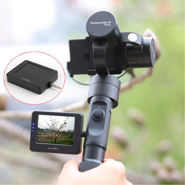 BeStableCam BESVIEW Мини Монитор Видоискатель Gimbal Gopro LCD для Gopro Z1 Эволюции Всадника-м Всадник м Действий Камеры Gimbal