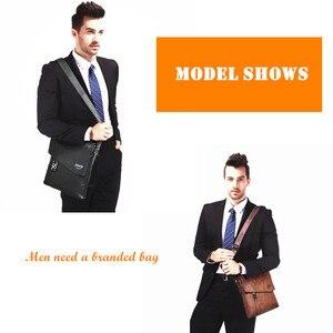 Image 5 - Jeepbuluo 브랜드 패션 남자 가방 방수 분할 가죽 crossbody 가방 비즈니스 서류 가방 메신저 가방 남성 숄더 백 5846
