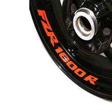 Motocycle Inner Rim Decals Wheel Reflective Stickers Stripes for Yamaha FZR1000R FZR 1000R