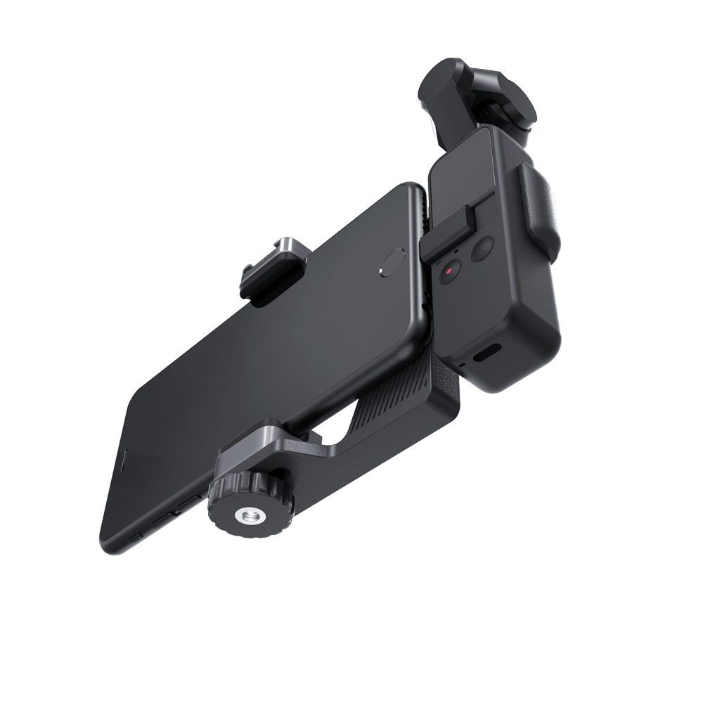 Image 4 - PGYTECH DJI OSMO Pocket Phone Holder Set for DJI OSMO Pocket Handheld Gimbal Holder Bracket Accessories-in Gimbal Accessories from Consumer Electronics