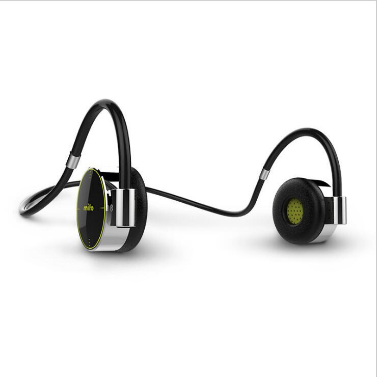 Mifo F0 Wireless Sports Hanging Earphones Type Touch Waterproof Bluetooth Headset MP3 Player 8G Memory in Bluetooth Earphones Headphones from Consumer Electronics