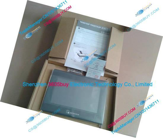 7 inch HMI Touch Screen TK6070IP With Programming Cable New Original