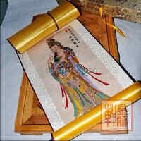 TOP Buddhismus seide Chinesische malerei Guanyin Bodhisattva TOP Business Geschenk OFFICE HOME KUNST