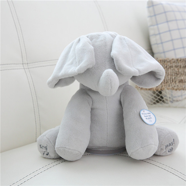 Peek A Boo Elephant For Baby