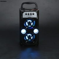 Outdoor Bluetooth Wireless Portable Speaker Super Bass With USB TF AUX FM Radio Fashion Phone Subwoofer
