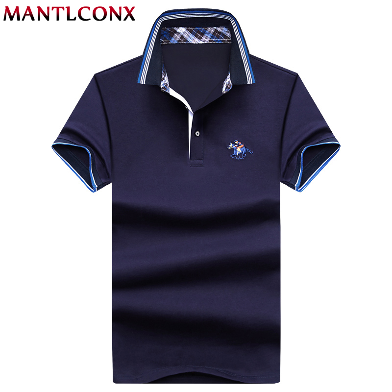 MANTLCONX New 2019 Men   Polo   homme Casual Male   Polo   Shirt Mens Printed   POLO   Shirt Cotton Camisa   Polo   Shirt Men Golf Tennis Shirts