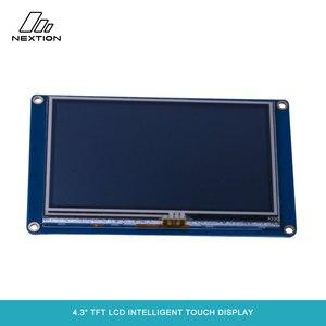 """Image 3 - Nextion NX4827T043 écran tactile Intelligent TFT LCD 4.3 """"meilleure Solution pour remplacer le Tube LCD et LED Nixie traditionnel"""