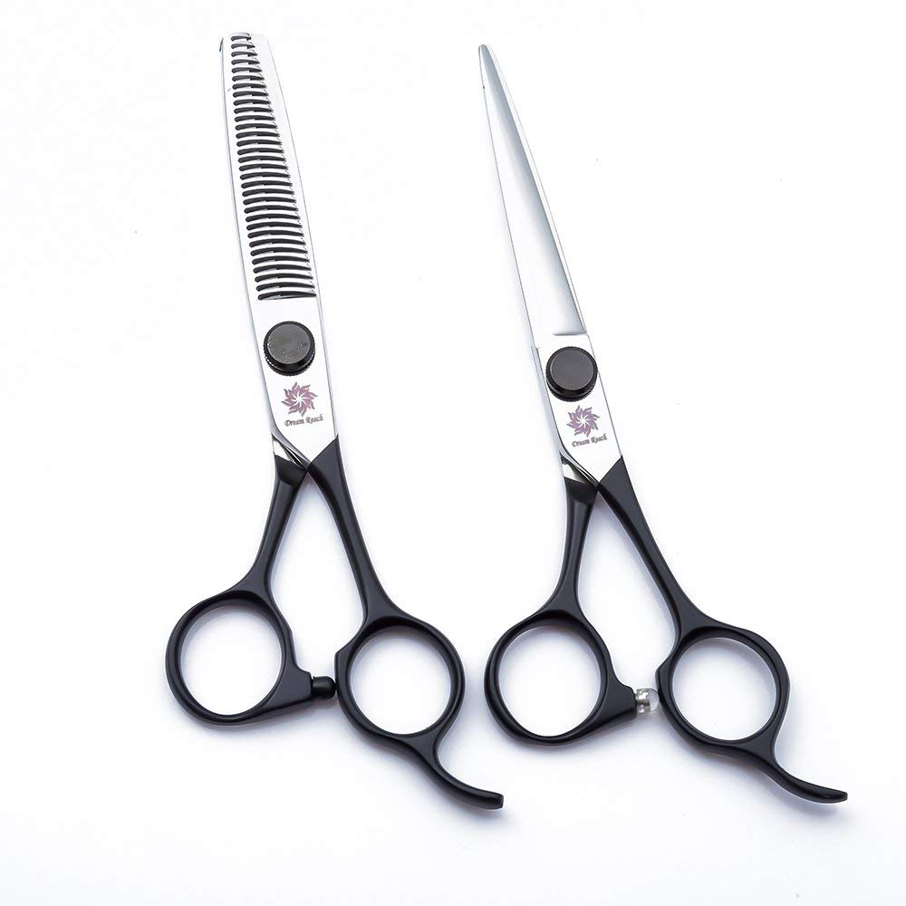 Dream Reach Hair Scissors Kit 6.0 inch Professional Japanese 440C Steel Hair Cutting Shears and ThinningTexturizing Scissors