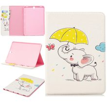 GOOYIYO - 2018 For Samsung Galaxy Tab S3 9.7 T820 T825 New Pattern Case Tablet Leather Case Cover Book Stand Painting Shell(China)
