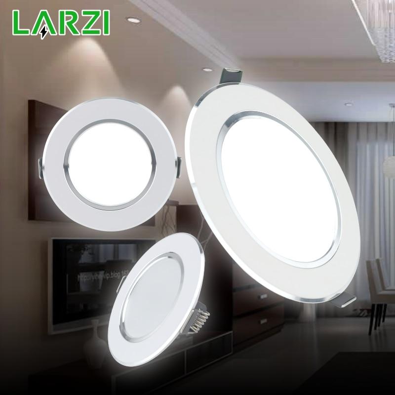 LED Downlight 3W 5W 7W 9W 12W AC220V 230V 240V Warm White Cold White Recessed LED Lamp Spot Light Led Bulb For Bedroom Kitchen