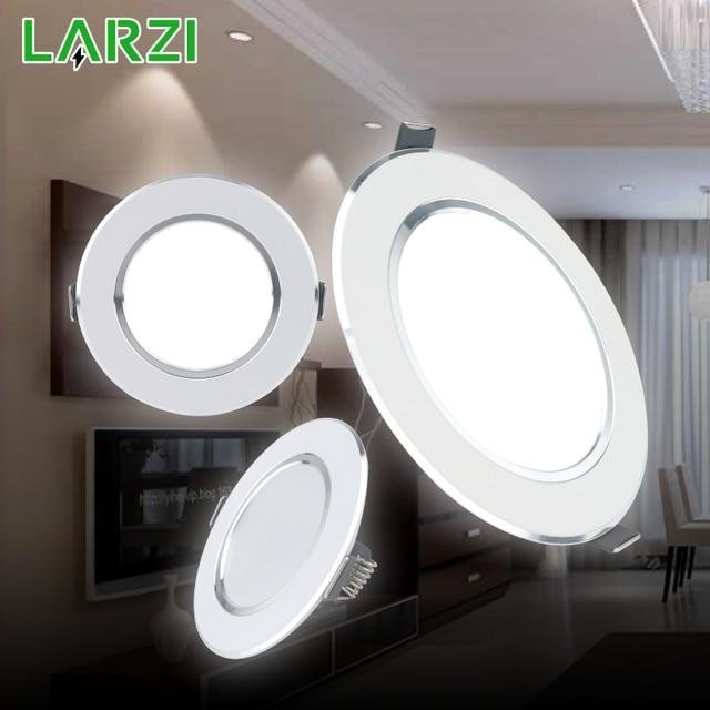 LED Downlight 3W 5W 7W 9W 12W AC220V 230V 240V Warm Wit Koud witte Verzonken LED Lamp Spot Light Led Lamp voor Slaapkamer Keuken