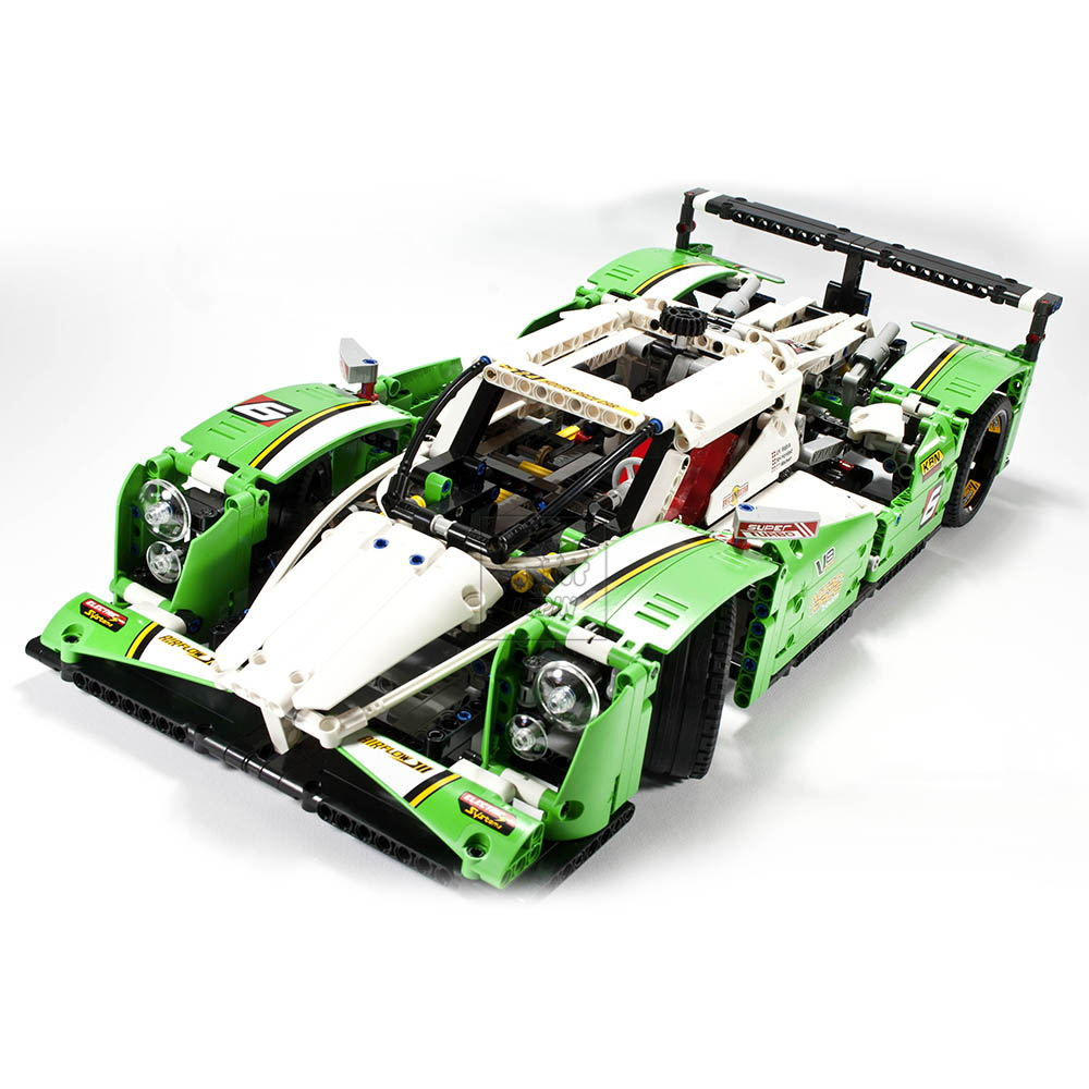 LEPIN 20003 1249Pcs Technic Series 24 Hours Race Car Model Building Kit Blocks Brick Toy Vehicles With Compatible legoed 42039
