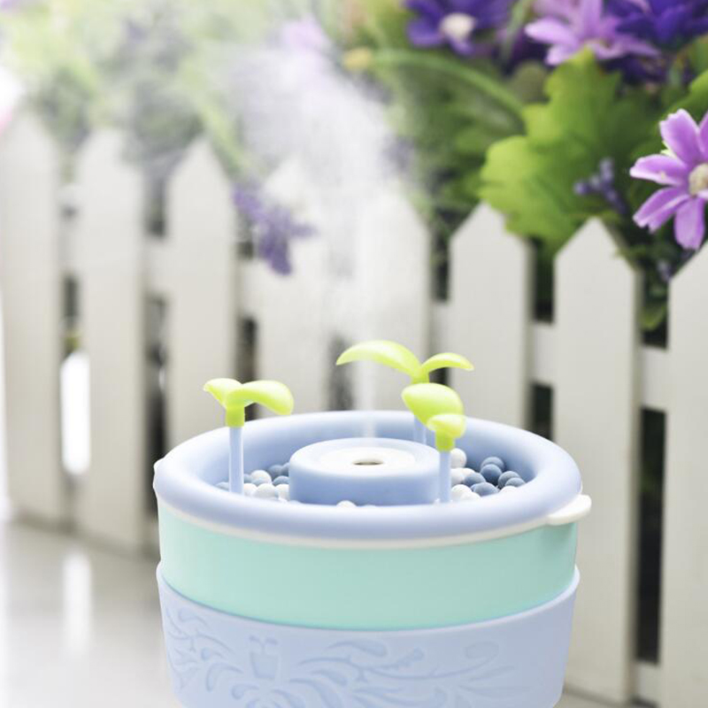 200ml Portable HumidifierAnion Potted Plant Diffuser Ultrasonic Cool Mist Air Purifier Plant Humidifier Cool Mist Air Purifier gardening tools to plant potted dedicated