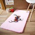 Creative 50*80cm Coral velvet Bath Mats Bathroom Rug Absorbent Non-slip Bath Mats Deer Carpet Order over $199 Code 19901