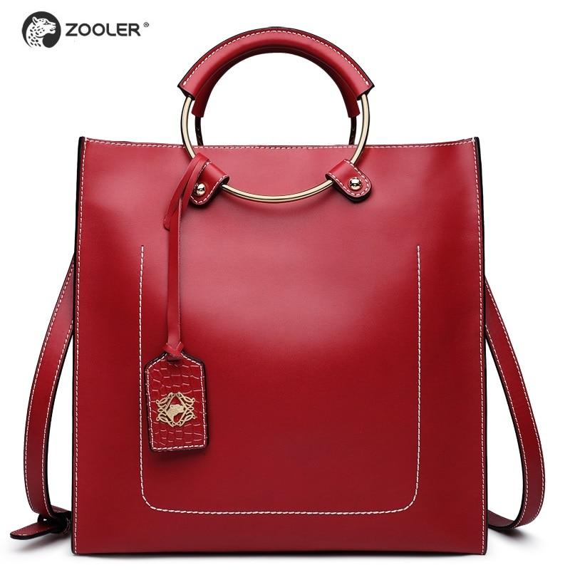 ZOOLER Main Femme genuine Leather bag Luxury Handbags Women Bags Designer Hand bags Women Shoulder Crossbody