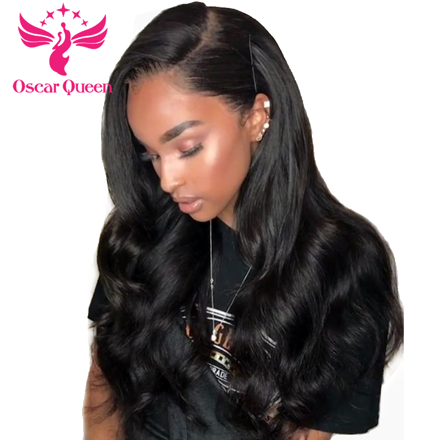 250% High Density Body Wave Lace Front Human Hair Wigs Baby Hair With Remy Hair Brazilian Pre Plucked Glueless For Women 8-26
