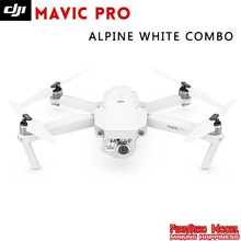 IN Stock!!Original DJI Mavic Pro Alpine White Combo FPV Drone with 4K video 1080p camera RC Folding GPS Helico