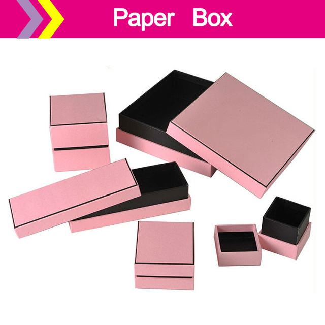 customed logo Jewelry Packaging Display box gift boxes for jewelry
