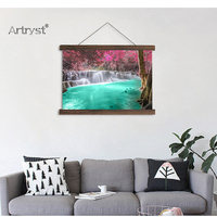 Modern Home Decor Beautiful and Elegant Charming Waterfall Landscape HD Print on Canvas for Living Room Wall Art Free Shipping